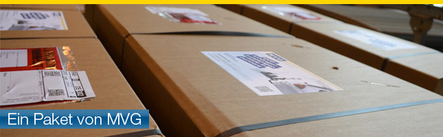 Paket von MVG