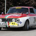 Bella Italia: Der Alfa Romeo 200 GTA strahlt in den Nationalfarben.