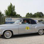 Ein seltener Hingucker: Das Borgward Isabella Cabrio Coupe.