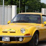 Der Opel GT macht seit 1971 in strahlendem Gelb auf sich aufmerksam.