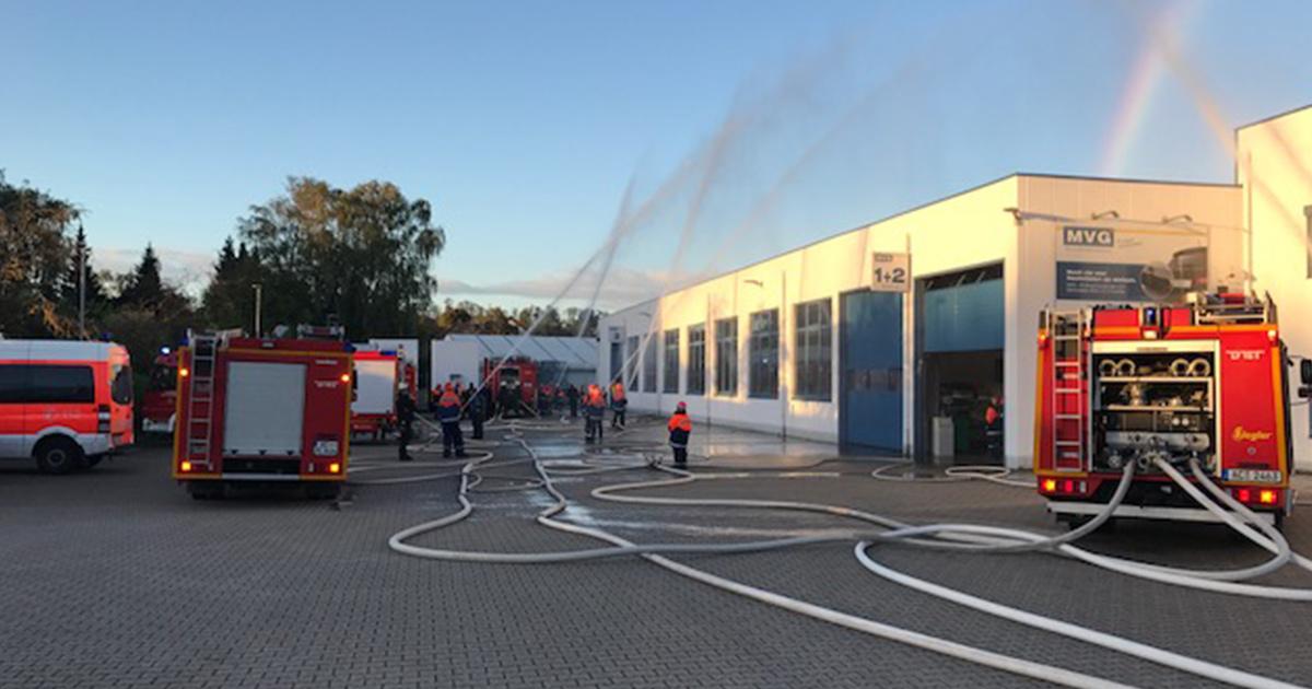 grobung der jugendabteilung der feuerwehr eschweiler bei mvg - Feuerwehrubungen Beispiele