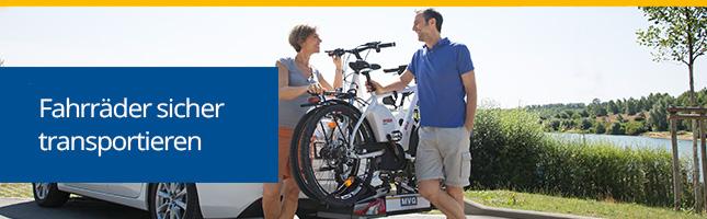 Heckfahrradträger zum Transport von Fahrrädern